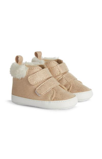 Baby Girl Faux Fur Booties