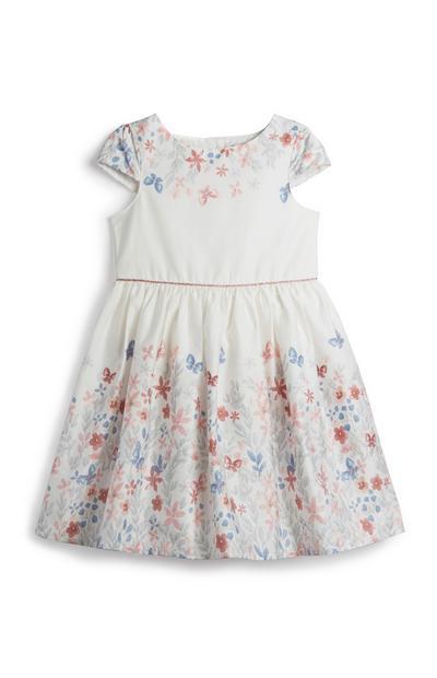 Vestido floral menina