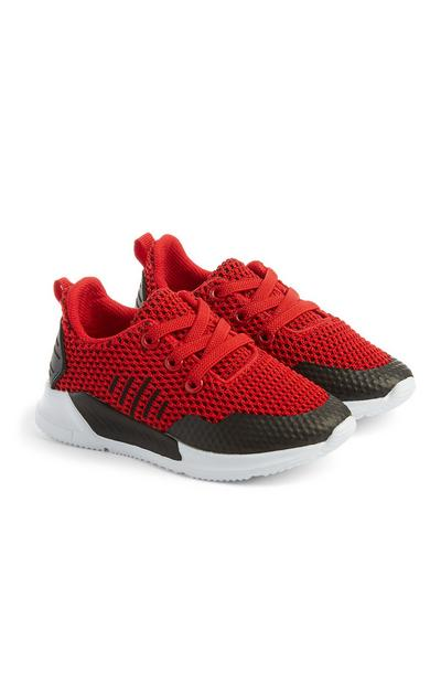 Baby Boy Red Sneakers