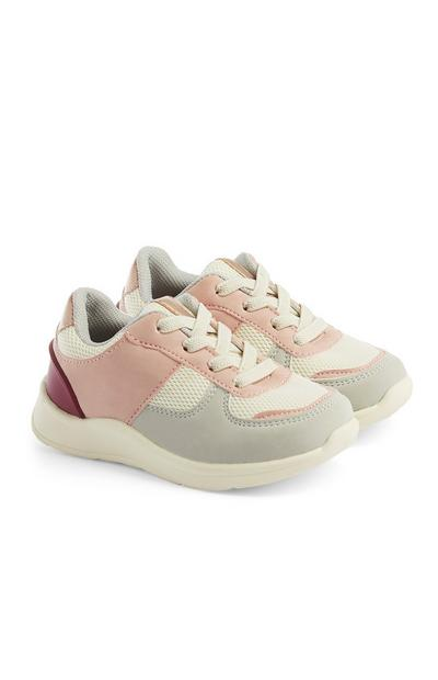 Baby Girl Color Block Sneakers