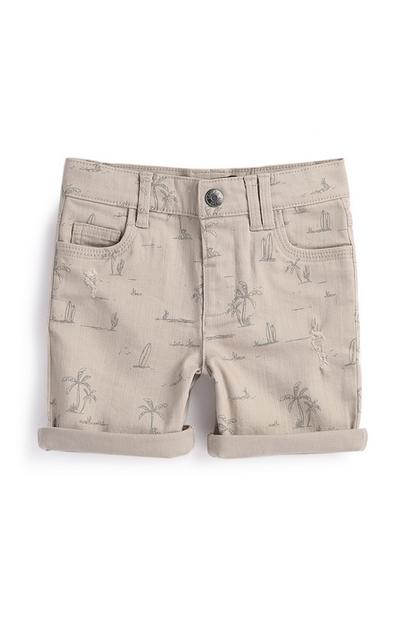 Younger Boy Palm Tree Shorts