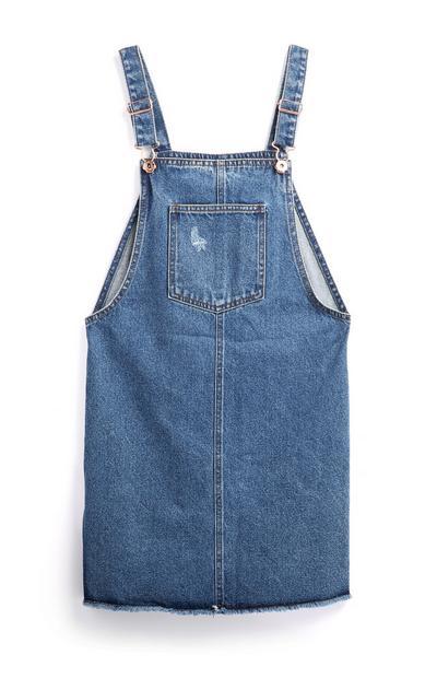 Older Girl Denim Dress