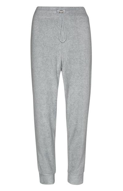 Gray Fleece Joggers