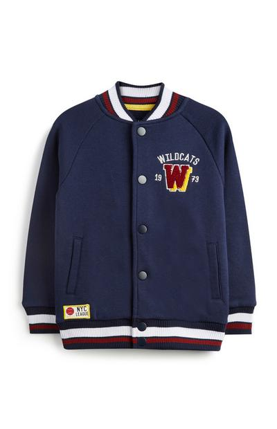 Older Boy Baseball Jacket