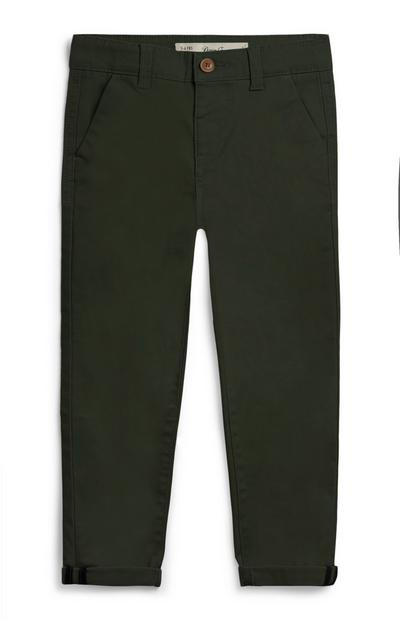 Younger Boy Olive Chinos