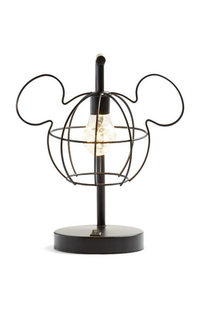 Lampe noire Mickey Mouse