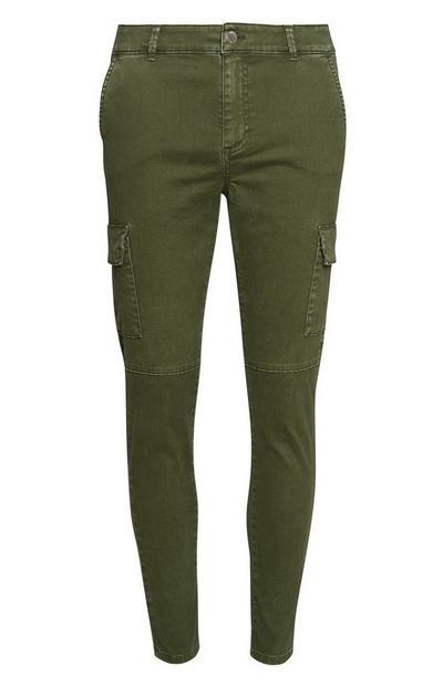 Olive Skinny Jeans