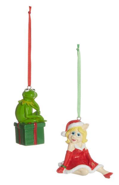 Disney Christmas Decoration 2Pk