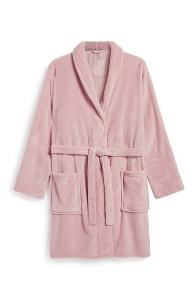 Dusky Pink Dressing Gown