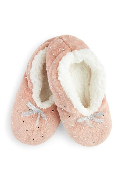 Blush Gem Slippers