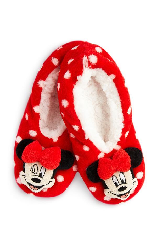 Pantuflas de Minnie Mouse