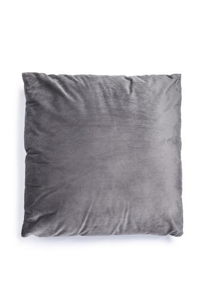 Cojín grande color gris