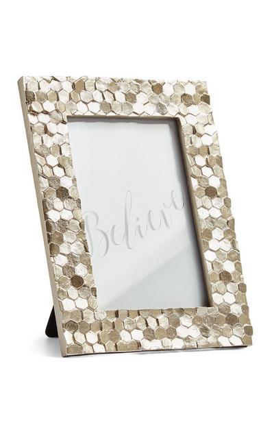 Bilderrahmen in Metallic-Gold