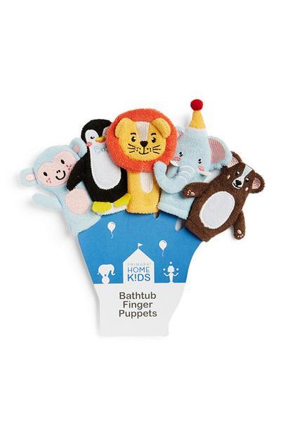 Marionetas de dedos para niños
