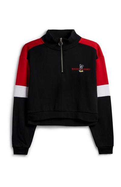 Mickey Mouse Zip Sweatshirt