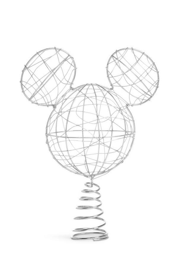 Mickey Mouse-kerstboompiek van metaaldraad