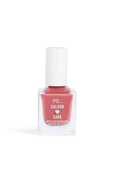 Esmalte de uñas rosa vintage de Colour And Care