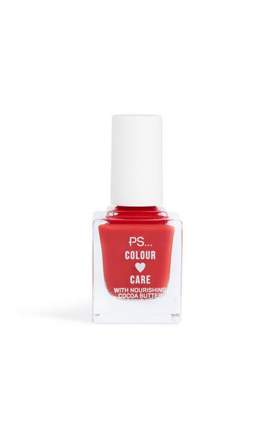 Nagellak Colour And Care, felrood