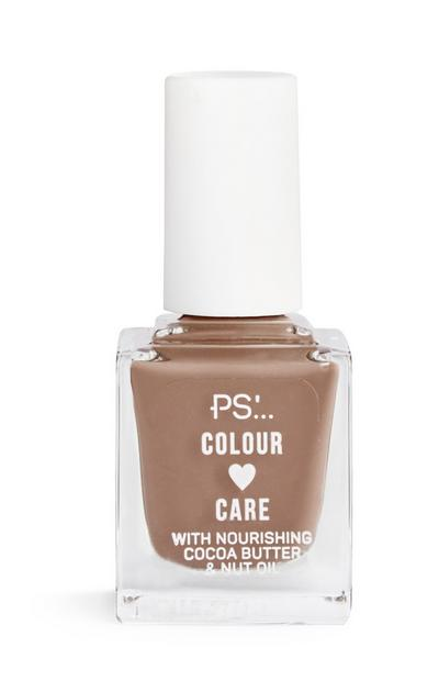 Nagellak Colour and Care, beige