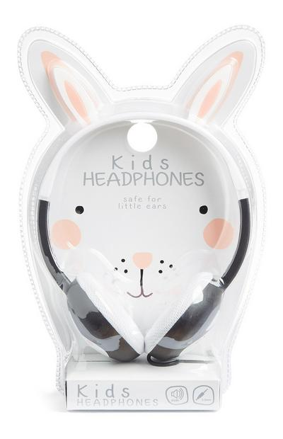 White Kids Headphones
