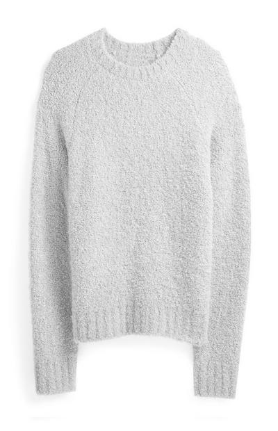 Gray Crew Sweater