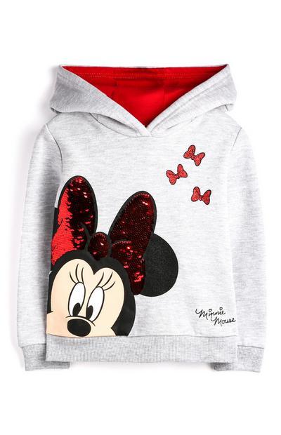Camisola capuz Minnie Mouse menina