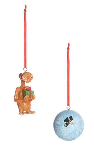 ET Christmas Decorations 2Pk