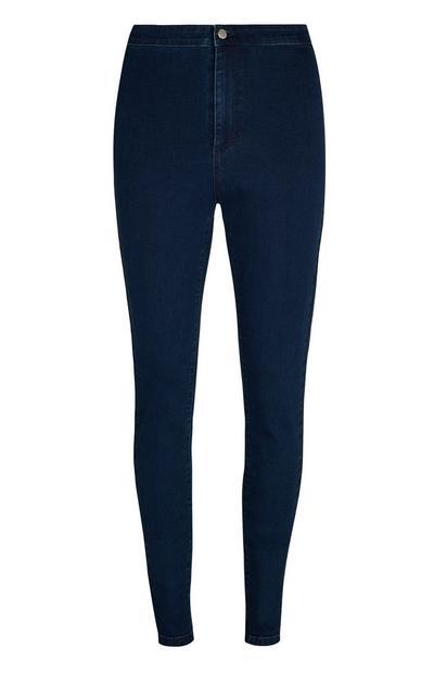 Indigo Super High Waist Shaping Skinny Jeans