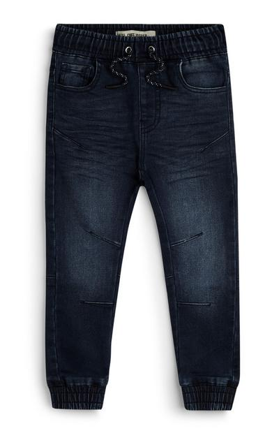 Younger Girl Jersey Denim Joggers