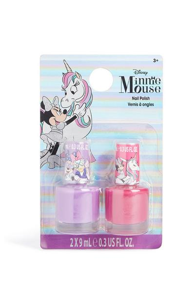Esmalte de uñas de Minnie Mouse