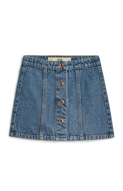 Jupe en jean pour fille