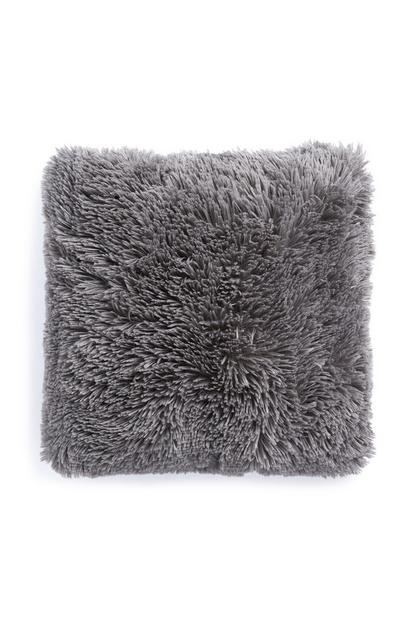 Cuscino grigio morbido