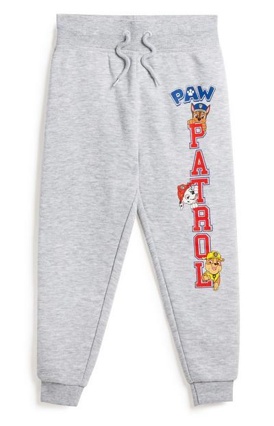 Sive hlače za prosti čas Paw Patrol za mlajše fante