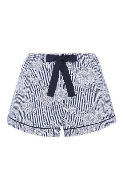 Stripe Pyjama Short