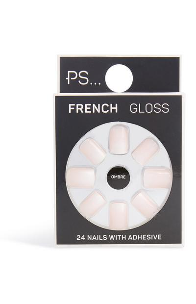Faux ongles brillants