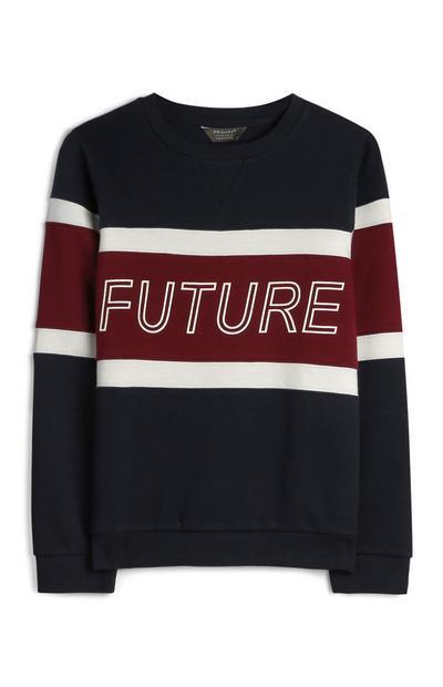 Pullover in Blockfarben (Teeny Boys)
