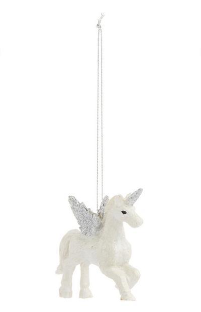 Ivory Unicorn Decoration