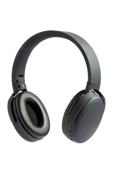 Črne brezžične slušalke