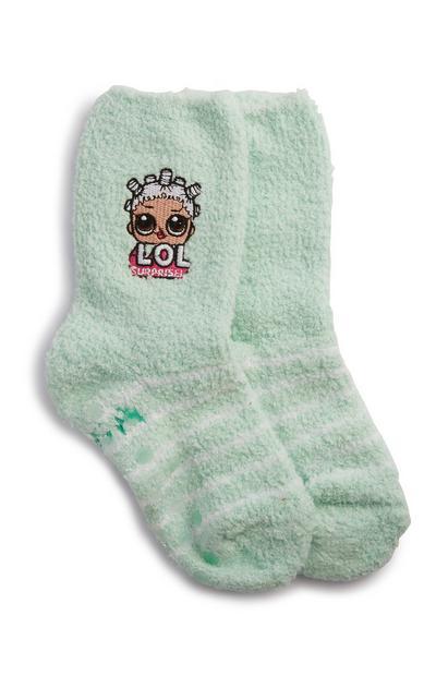 Groene sokken LOL Dolls