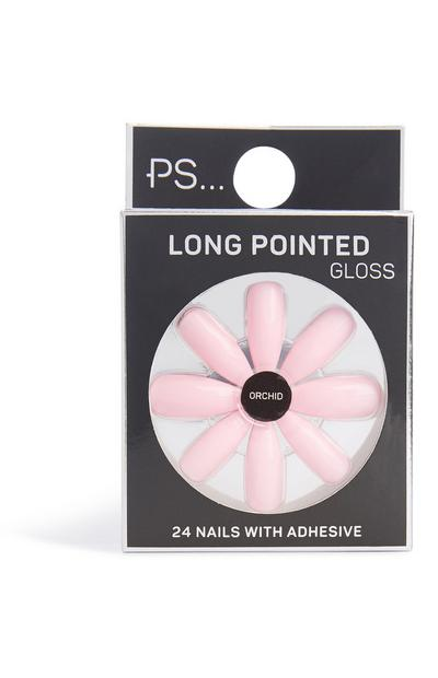 Pointed Faux Nails