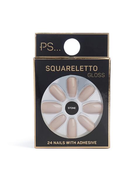 Square Faux Nails