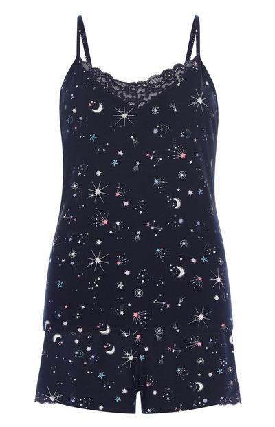 Stars Pyjama Cami Set