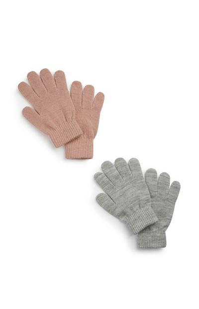 2 paia di guanti