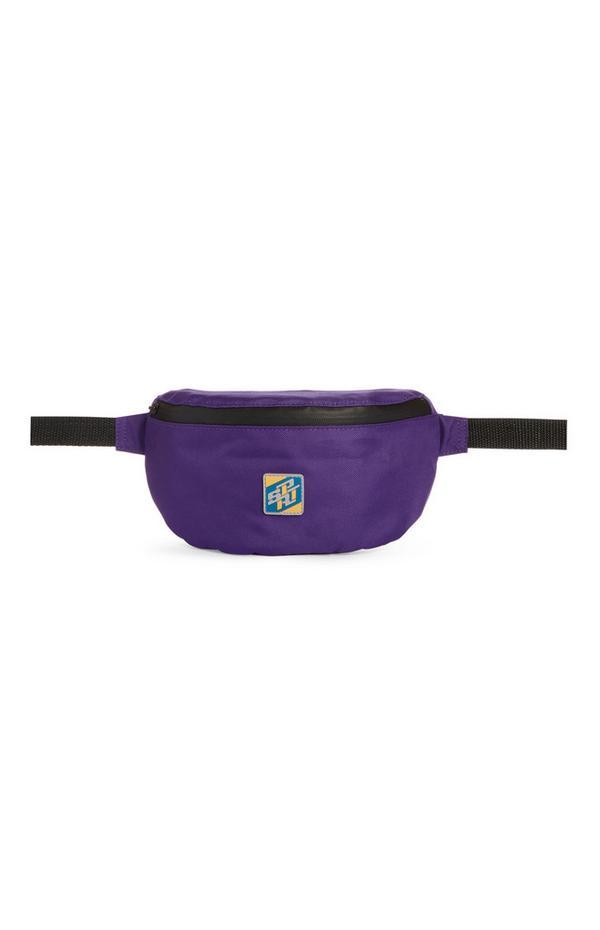Violette Gürteltasche