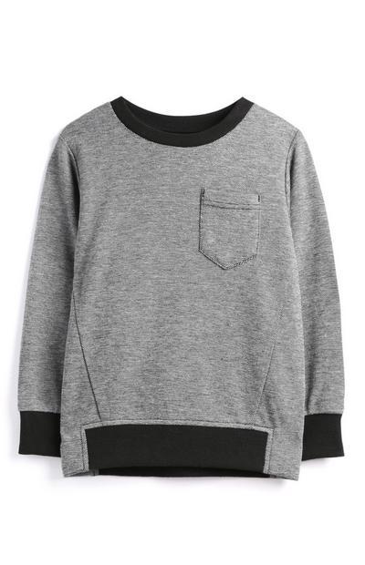 Maglione grigio da bambino