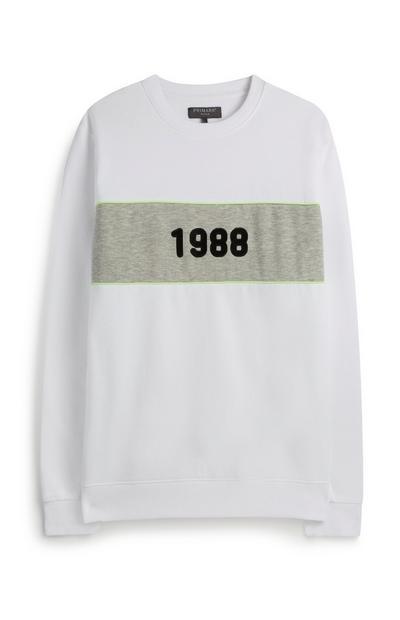 Wit sweatshirt 1988