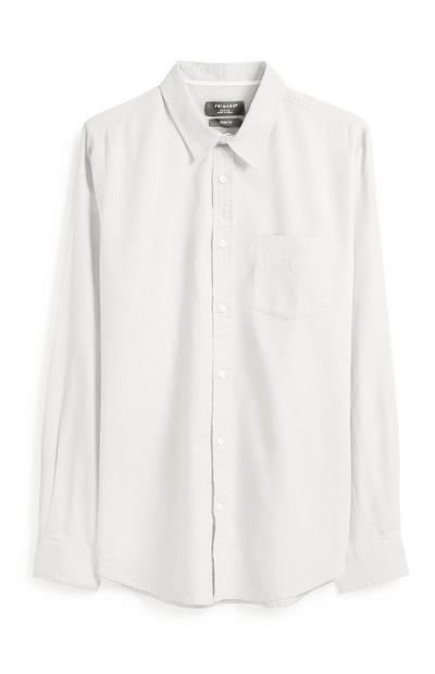 Weißes Oxford-Hemd
