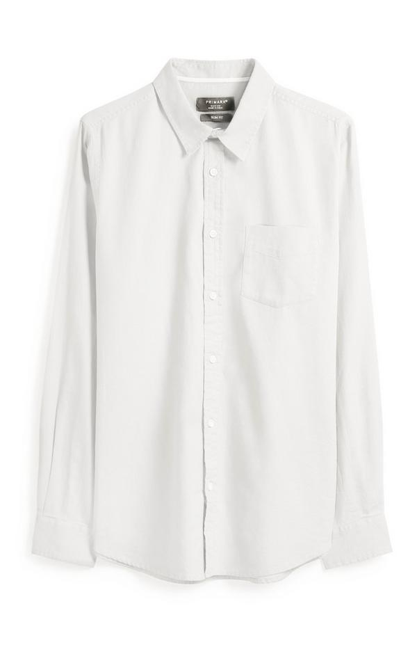 Chemise oxford blanche