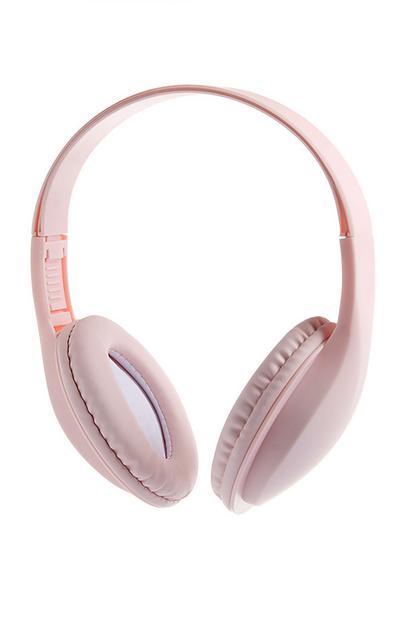 Cuffie wireless rosa