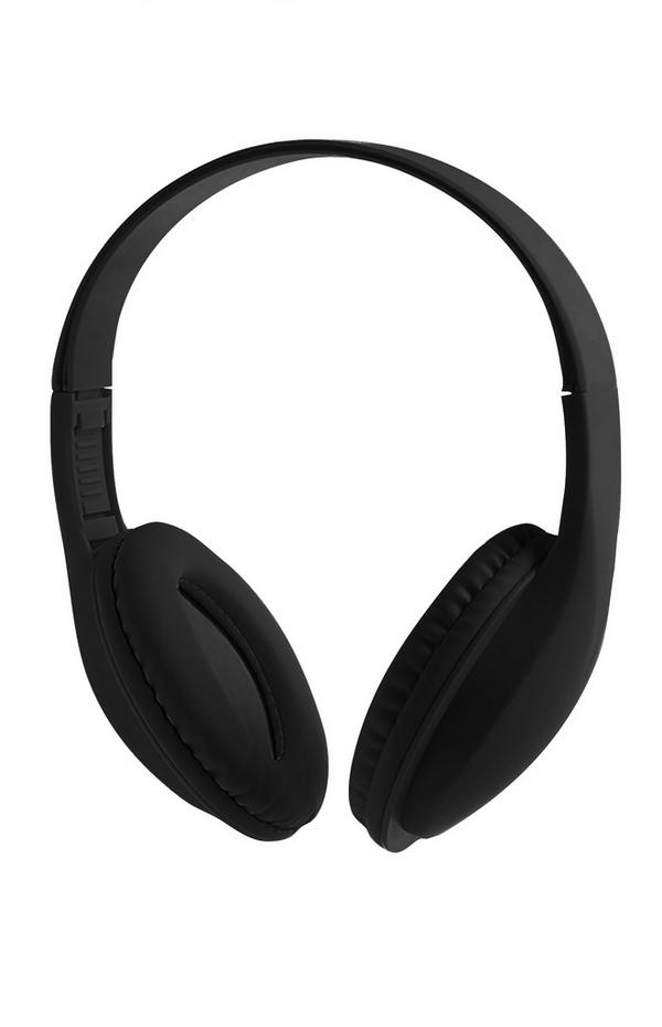 Kabellose schwarze Kopfhörer